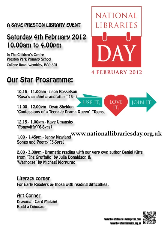 Poster for Children's activity day
